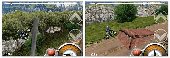 Trial Xtreme für iPhone, iPod Touch und iPad Screenshot