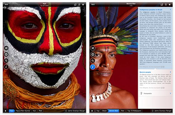Memories of Color by Fotopedia iPad Screenshots