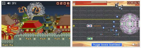 Rogue Runner Klassik Jump and Run - Screenshot