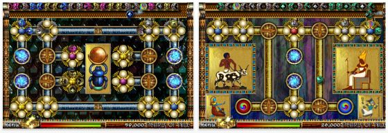 Scarabeus: Pearls of Nile für iPhone und iPod Touch Screenshots