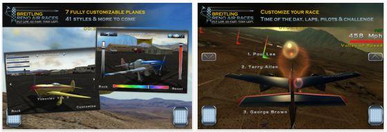 Breitling Reno Air Race App Screenshot
