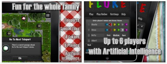 Fluke HD Brettspiel-App für das iPad