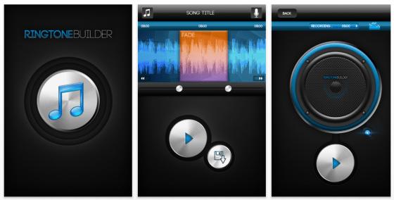 Ringtone Builder für das iPPhone - einfach Klingeltöne selbst erstellen