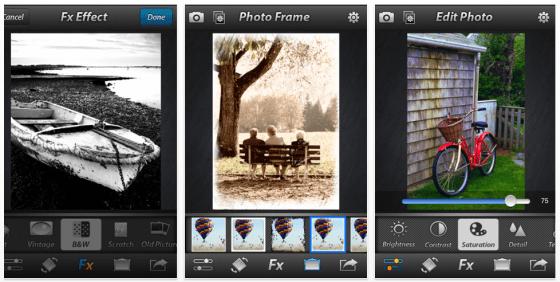 Photo Effect Studio iPhone App Screenshots