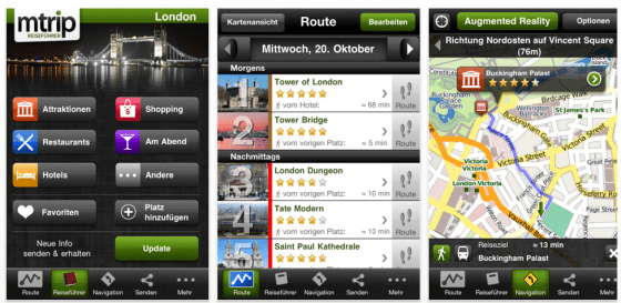 mTrip London Cityguide Screenshot