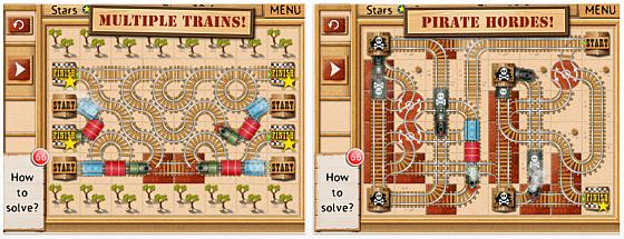 Rail Maze Screenshots