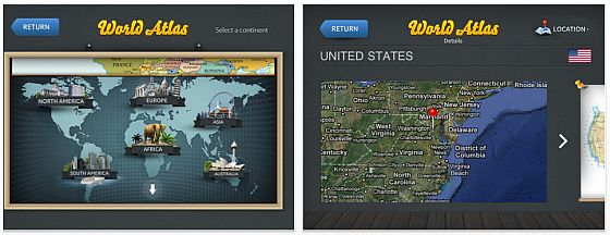 World Atlas 2 HD Screenshot