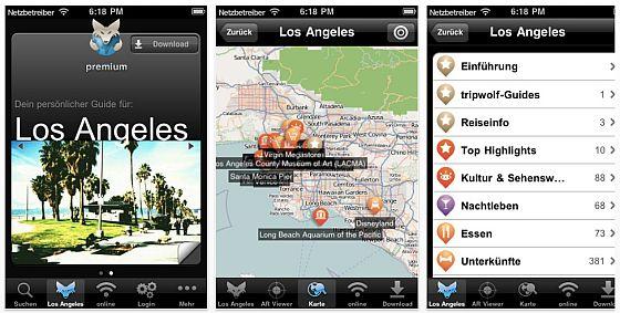Tripwolf Reiseführer für iPhone Los Angeles