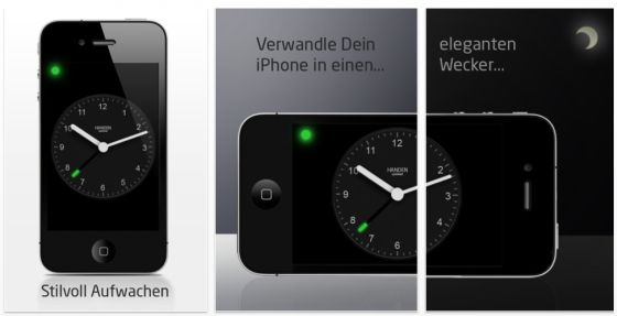 Wecker_one_touch_Screen