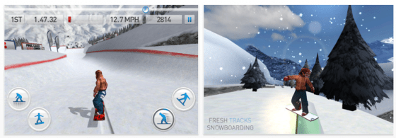 Fresh Tracks Snowboarding Screenshots