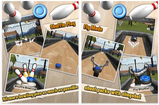 iShuffle Bowling 2 Bowling Spiel für iPhone und iPad - Screenshots
