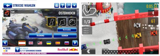 Red Bull Kart Fighter World Tour für iPhone, iPod Touch und iPad Screenshots