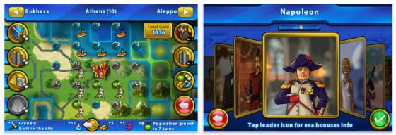 Civilization Revolution Screenshots