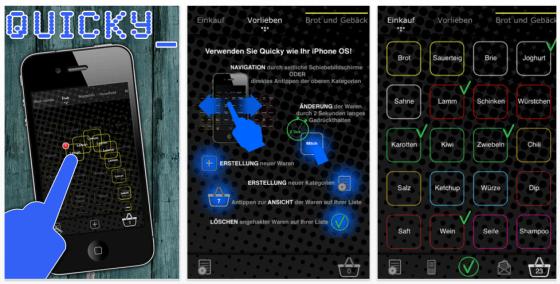 Quicky für iPhone und iPod Touch