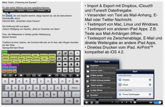 Textkraft Deutsch_Screenshots