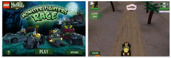 Lego Monster Fighters Race