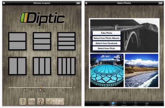Diptic Screenshots