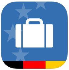 Zoll und Reise Icon