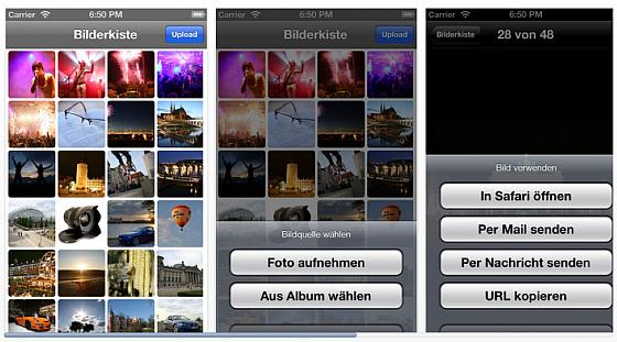 Bilderkiste_Screenshots