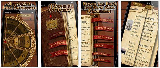 Das Jahrbuch App Screenshots