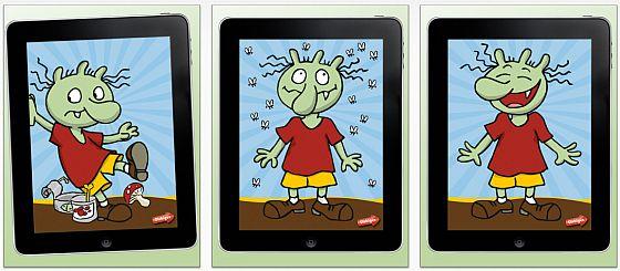 Jux-Olchi auf dem iPad - Screenshots