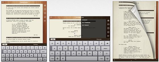 Scripts Pro Screenshots iPad