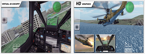 Screenshots von Black Shark HD for iPad