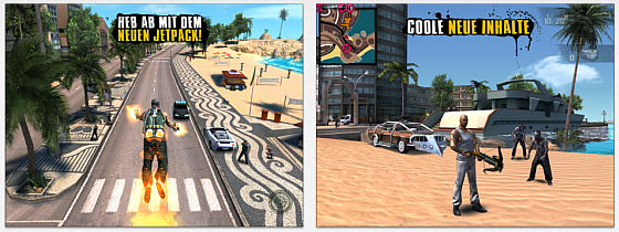 Screenshots Gangstar Rio