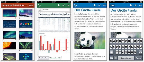 Office Mobile Screenshots