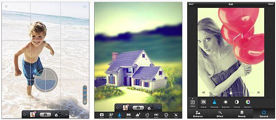 Mit PowerCam HD ergänzt Du die im iPad eingebaute Kamera um zahlreiche Funktionen und kannst direkt beim Fotografieren Effekte anwenden, die Du in der Vorschau auch angezeigt bekommst.