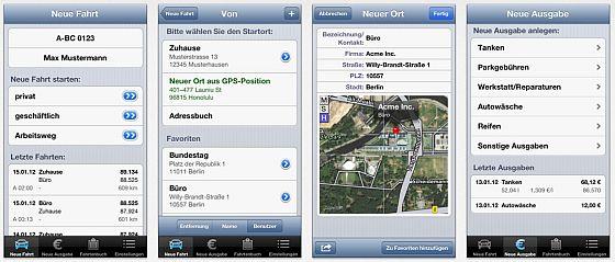 Driverslog Pro Screenshots