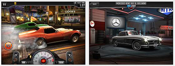 CSR Classic Screenshots