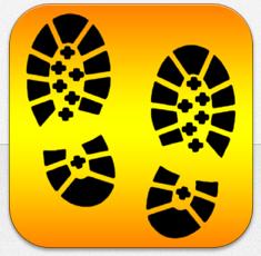 Draussen unterwegs App Icon