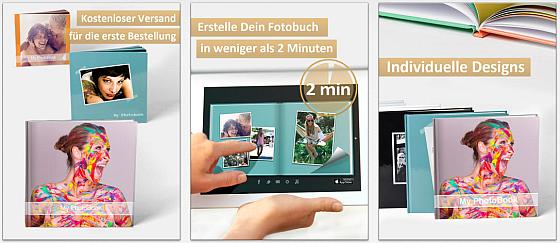Die aktuelle Aktion von PhotoBook - Premium Fotobuch macht es einfach, sich für ein Fotobuch oder einen Wandkalender als Geschenk zu entscheiden.