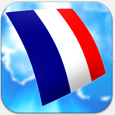 Learn French Audio Flashcards Icon