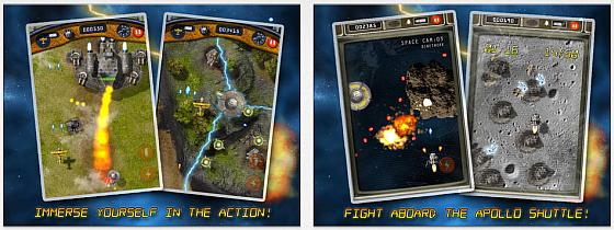 In B-Squdron: Battle for Earth geht es richtig zur Sache. Und wenn Du glaubst, dass das zu einfach ist, versuche mal den neuen Schwierigkeitsgrad Bullet Hell...