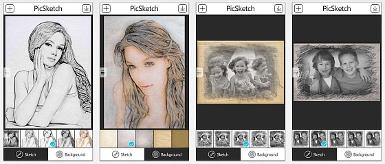 PicSketch Screenshots