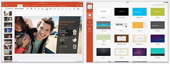 Mit der PowerPoint App kann man sich nicht nur Präsentationen ansehen, man kann sie auch vorführen. Das Abo ist nur nötig, wenn man Präsentationen auf dem iPad auch bearbeiten möchte.