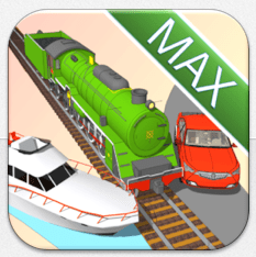 Trains Boats & Cars Icon