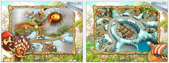 In Island Tribe 4 wird die Geschichte der Inselbewohner weitergeschrieben. Auf den Spieler warten zunehmend komplexe Aufgaben, die in immer weniger Zeit zu lösen sind.