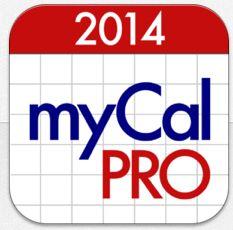 myCal PRO Icon