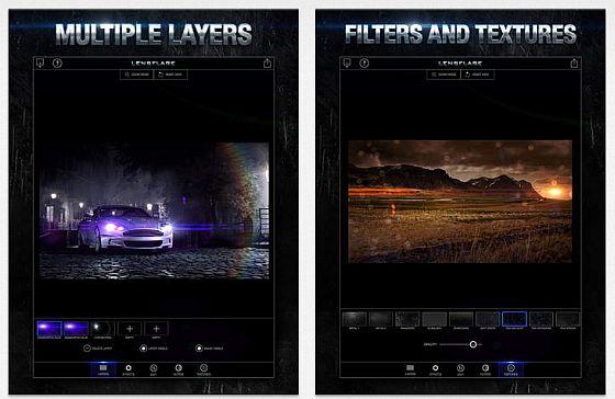LensFlare Screens