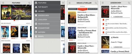 readfy hat das Potenzial den eBook-Markt zu verändern, wenn die Herausgeber sich vernünftig verhalten und das Lesevergnügen nicht mit zu viel Werbung zerstören.