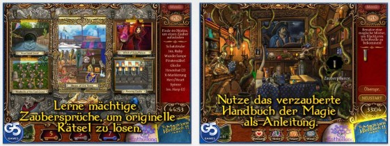 Bilder mit vielen kleinen Details und eine ordentliche Geschichte mit Minispielen zeichnen The Magician's Handbook II aus.