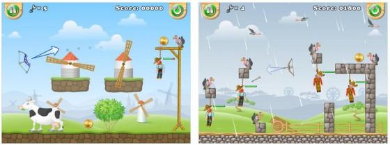 World of Gibbets ist ein physikbasiertes Pfeil- und Bogen-Spiel, in dem Du Leute vom Galgen schiesst.