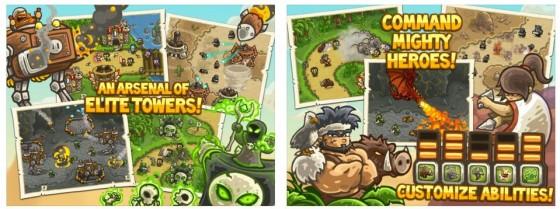 Stundenlanges, spannendes Spielen garantiert: Kingdom Rush Frontiers macht rundum einen gelungenen Eindruck.