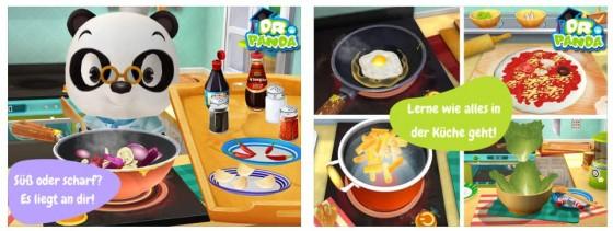Mit den 20 Zutaten kann das Kind viele verschiedene Gerichte zaubern - Vorsicht nur mit den Gewürzen, damit niemand Feuer spucken muss.