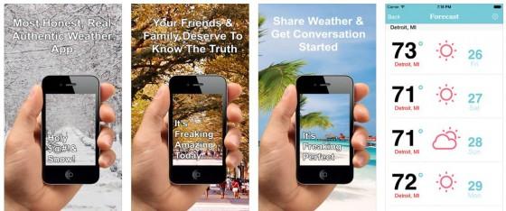 Honest Weather Screens