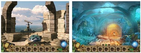 Dein Weg zur Lösung des Spiels führt Dich durch viele Orte, in denen Du Gegenstände finden, kombinieren und nutzen kannst. Aufgelockert wird das Spiel durch zahlreiche Minispiele.