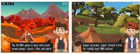 50 Level und 500 Herausforderungen erwarten den ambitionierten Biker in Pumped BMX 2 für iPhone und iPad